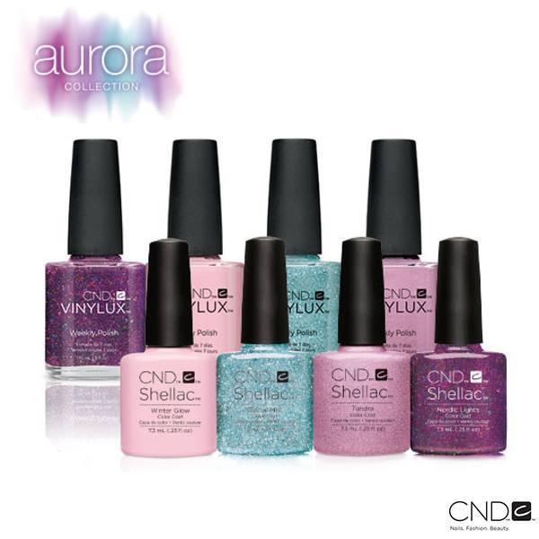 Зимняя коллекция 2015-2016 «Aurora» гель-лаков CND Shellac