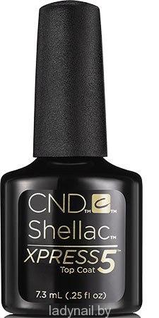 CND Shellac Xpress5 Top Coat - лучший топ для гель-лака CND